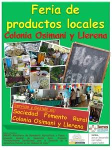 Feria Colonia Osimani y Llerena
