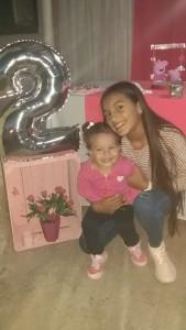 Paulina y su hermana Avril