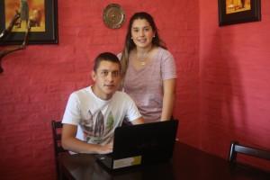 Fátima Campos y Nahuel Roza
