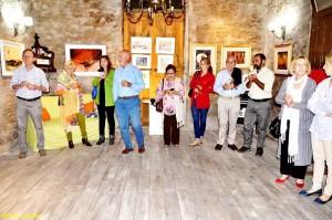 Inauguración de la muestra. Foto de Alberto Eguiluz