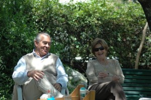Juan Manuel Bartaburu y María Isabel Olarreaga