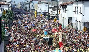 Procesión del Cristo del Consuelo en Ecuador