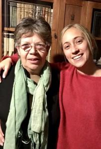 Andreina Rossi con su madre