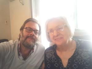 Juan Pablo Cesio con su madre (2)