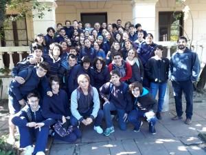 Liceales en Casa Quiroga