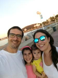 Lucía y su familia