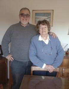Pablo Bonet con su madre