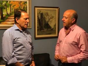 Ramon Rivas con Germán
