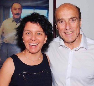 Soledad Marazzano y Daniel Martinez