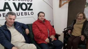 Blasina,Feris y Graciela Delagado en El Pueblo