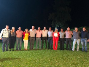 Germán y pre candidatos a Diputados