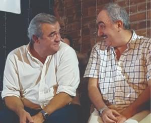 Jorge Larrañaga y Rodrigo Goñi