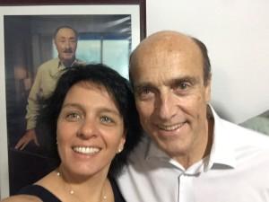 Soledad Marazzano y Daniel Martínez