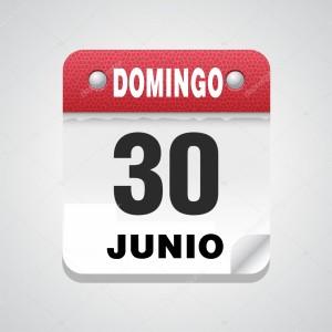 domingo 30 junio
