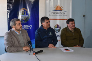 Fernando Traversa, Andrés Lima y Julio Texeira