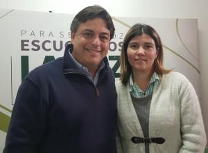 Daniel Peña y Liliana Filonenko