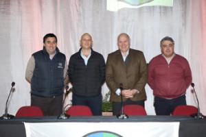 Juan Miguel Otegui, Alfonso Capurro, Víctor Tonelli y José Pedro Aicardi