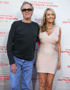 Peter Fonda and wife Parky Fonda