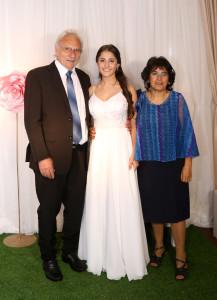 Bianca y abuelos maternos