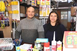 Elbio Cardozo y Beatriz Centurion Barraca