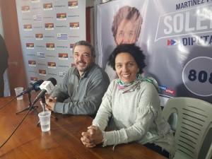 Mario Bergara y Soledad Marazzano