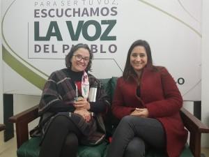 Patricia Ayala y Manuela Mutti