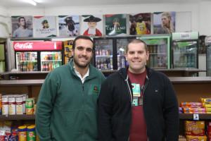 Pedro y Jose Areta.Minimarket Capitano