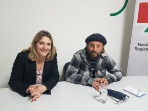 Angelina Bazzano y Juan P. Bonetti