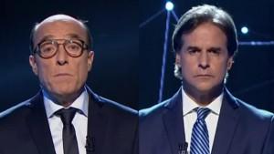 ELECCIONES 1 Daniel Marttínez y Lacalle Pou