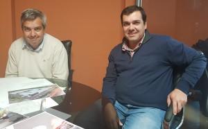 Federico Chapuis y Gonzalo De Souza