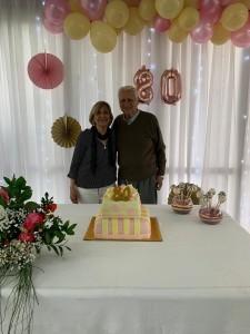 Gladys Corbo y Jorge Alonso