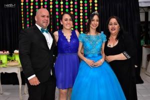 Luana y su familia