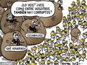 columna corruptos