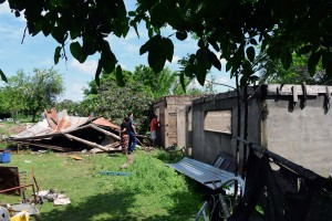 Demolición de Casas Inundados 03