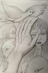 CULTURA. Una de las ilustraciones del libro