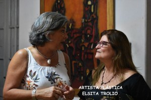 Corina Roig y Elsa Trolio