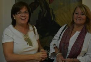 Estela Algorta y María Angélica DEvotto