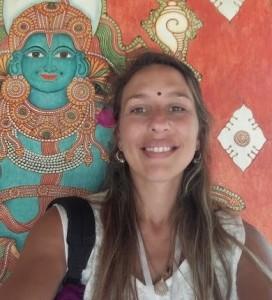 Manuela Piegas, profesora de Yoga