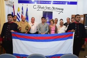 10-01-20 - Entrega Bandera Marcha Blandengues