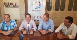Gustavo Báez, Atilio Minervine, Rodrigo Barcelona y Álvaro Frioni