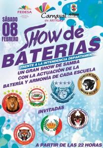 SHOW DE BATERIAS