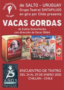 VACAS GORDAS EN CHILE - SINTAPUJOS afiche (1)