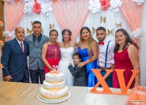 La familia Roberto Di Paola (papá) Kristian,Emanuel,Lorena,Fernanda, y Angel (hermanos) y Paola Silveira (mamá)