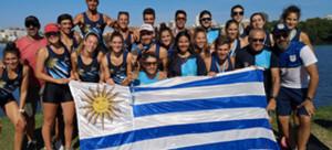 Los remeros celestes comenzaron cosechando  varias medallas en la Copa América de Chile 2020