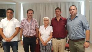 José Luis Bertolotto, German Cardozo, Blanca Hackenbruch, Diego González, Nicolás Cuelho