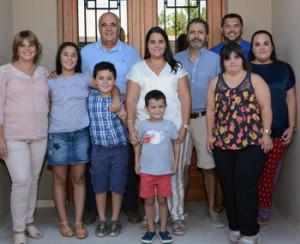 Beatriz y familia