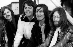 The Beatles meses antes de grabar el tema