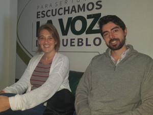 Andrea Malvasio y Nicolás Barreto