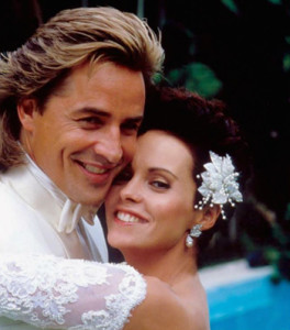 Con Don Johnson, 1987