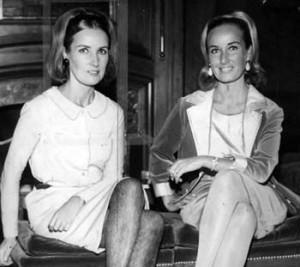 Las gemelas Silvia y Mirtha